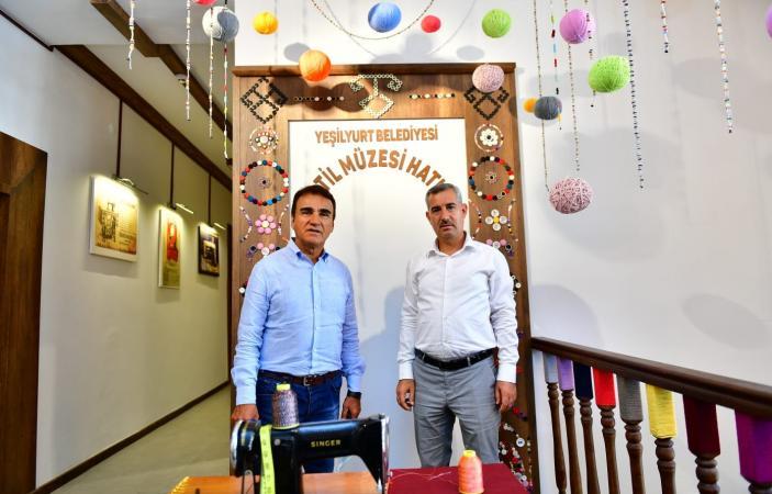 """""""Çırmıhtı'nın Tekstil Kültürünü Özel Bir Mekânda Tanıtıyoruz"""""""