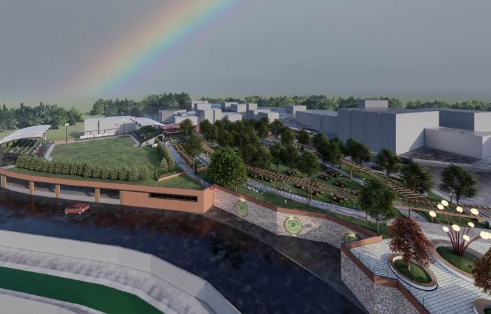 """""""Spor ve Park Projelerine Örnek Gösterilecek Bir Yatırım"""""""