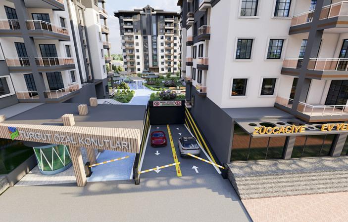 Turgut Özal Mahallesi Kentsel Dönüşüm Projesi