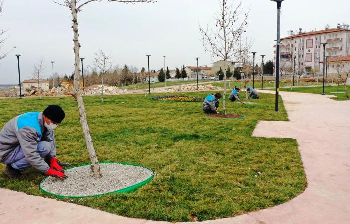 """""""Parklarımızın Kalitesini Artırıyoruz"""""""